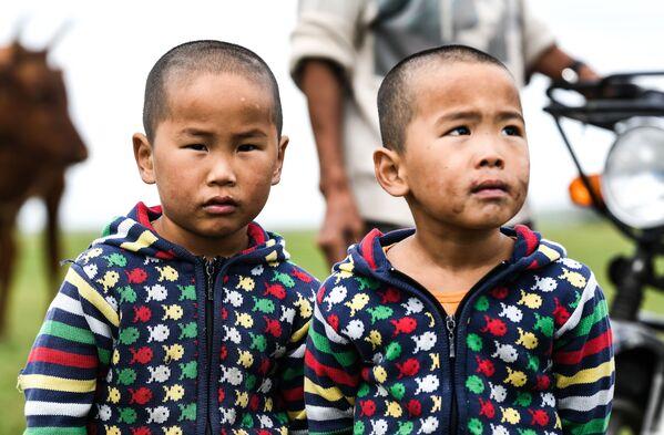 Chàng trai ở thảo nguyên Mông Cổ - Sputnik Việt Nam