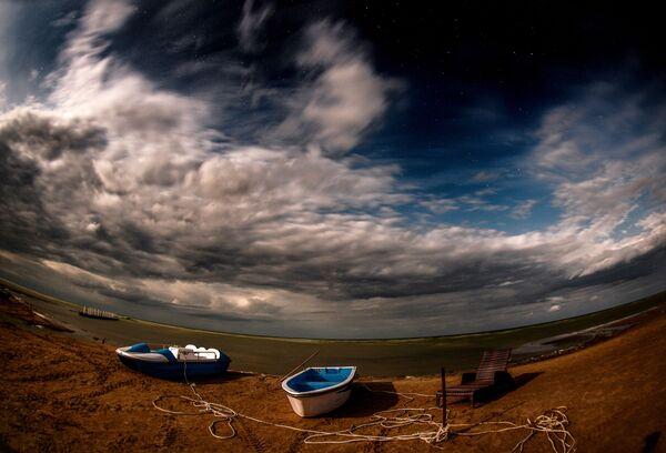 Hồ ở Mông Cổ - Sputnik Việt Nam