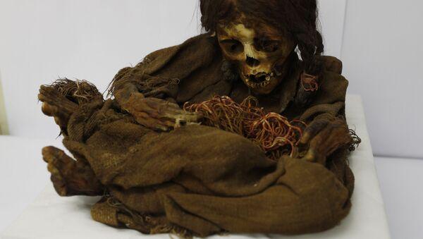Xác ướp cô bé Inca 500 tuổi  - Sputnik Việt Nam