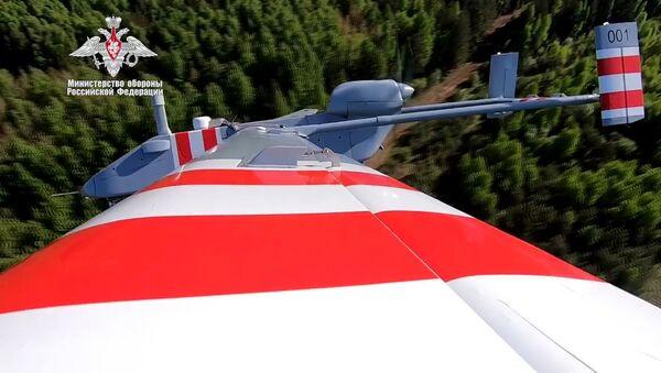 Bộ Quốc phòng Nga công bố chuyến bay đầu tiên của UAV trinh sát «Forpost-R» - Sputnik Việt Nam
