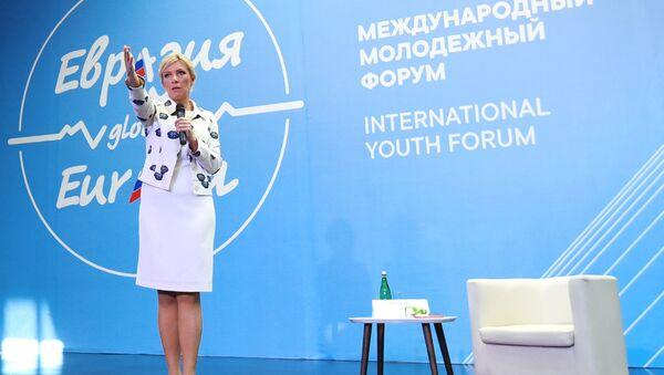 Người phát ngôn Bộ Ngoại giao Nga Maria Zakharova - Sputnik Việt Nam