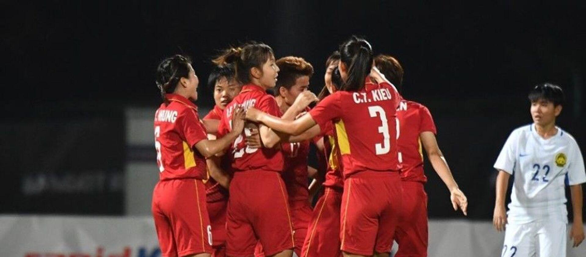 đội tuyển bóng đá nữ  Việt Nam - Sputnik Việt Nam, 1920, 26.08.2019