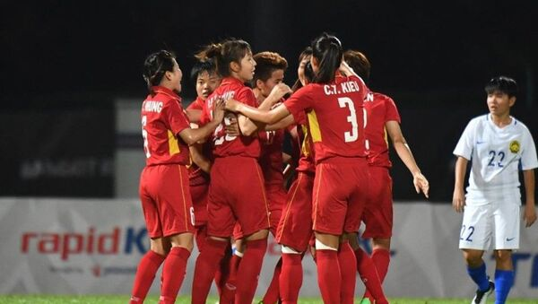 đội tuyển bóng đá nữ  Việt Nam - Sputnik Việt Nam