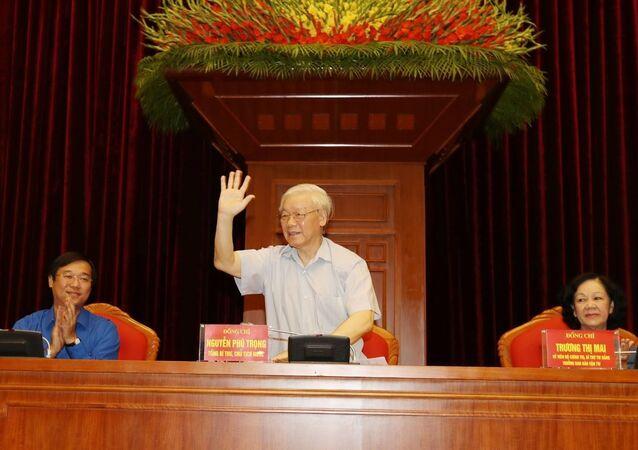 Tổng Bí thư, Chủ tịch nước Nguyễn Phú Trọng dự buổi gặp mặt
