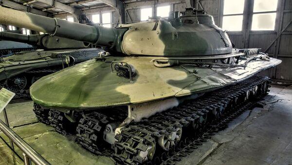 Chủ thể 279 trong Bảo tàng vũ khí và các trang bị thiết giáp ở Kubinka - Sputnik Việt Nam