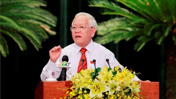 Ông Lê Hoàng Quân - nguyên Chủ tịch UBND TPHCM. - Sputnik Việt Nam