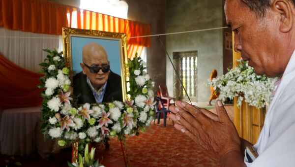 Lễ tang Nuon Chea  - Sputnik Việt Nam