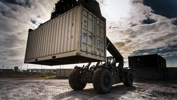 Container vận chuyển hàng hóa - Sputnik Việt Nam