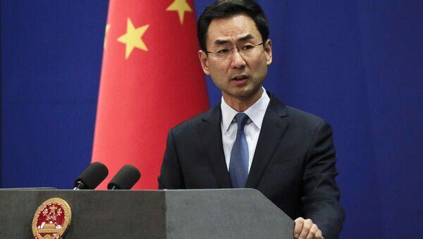 Cảnh Sảng, phát ngôn viên của Bộ Ngoại giao Trung Quốc - Sputnik Việt Nam