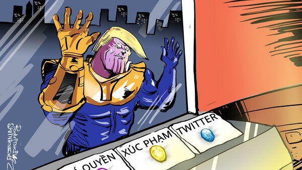 Trump hay Thanos? - Sputnik Việt Nam