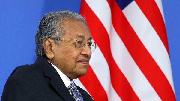 Thủ tướng Malaysia Mahathir Mohamad tham gia Diễn đàn kinh tế Đông - 2019 - Sputnik Việt Nam