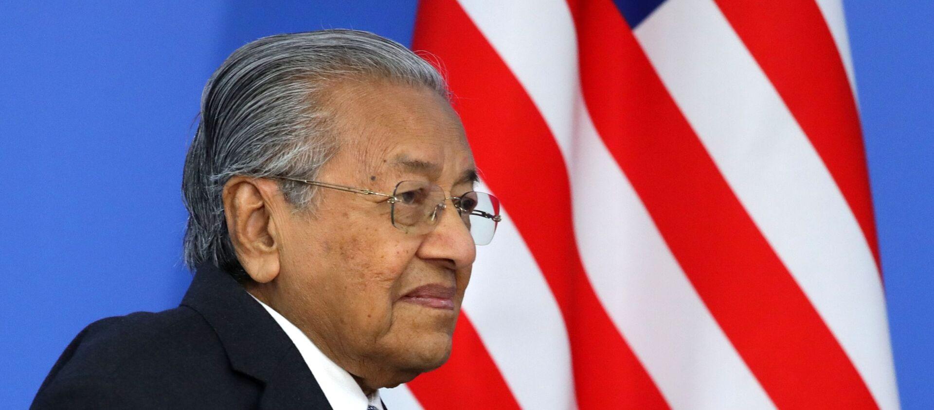 Thủ tướng Malaysia Mahathir Mohamad tham gia Diễn đàn kinh tế Đông - 2019 - Sputnik Việt Nam, 1920, 14.01.2020