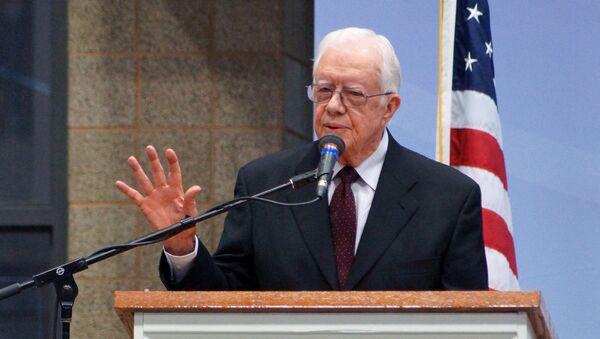 Cựu Tổng thống Mỹ Jimmy Carter - Sputnik Việt Nam