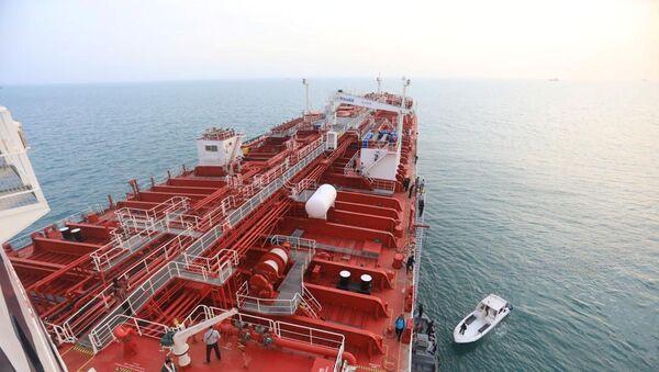 Tàu chở dầu Stena Impero  - Sputnik Việt Nam