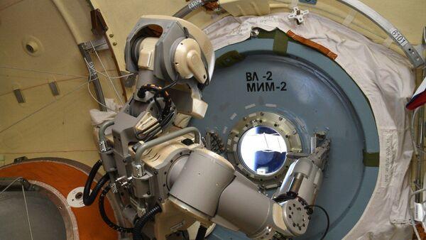 Skybot F-850 trên quỹ đạo của ISS - Sputnik Việt Nam