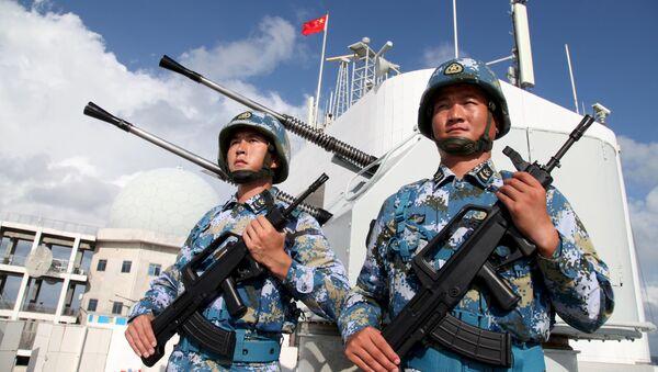 Những người lính của Hải quân Trung Quốc - Sputnik Việt Nam