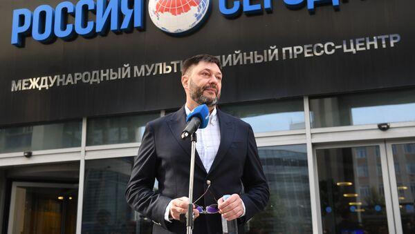 Người đứng đầu cổng thông tin RIA Novosti Ukraine, nhà báo Kirill Vyshinsky. - Sputnik Việt Nam