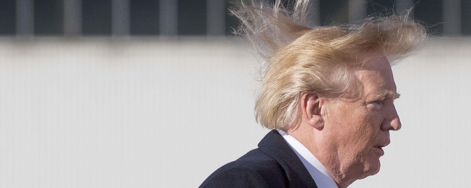 Tổng thống Mỹ Donald Trump - Sputnik Việt Nam, 1920, 10.09.2019