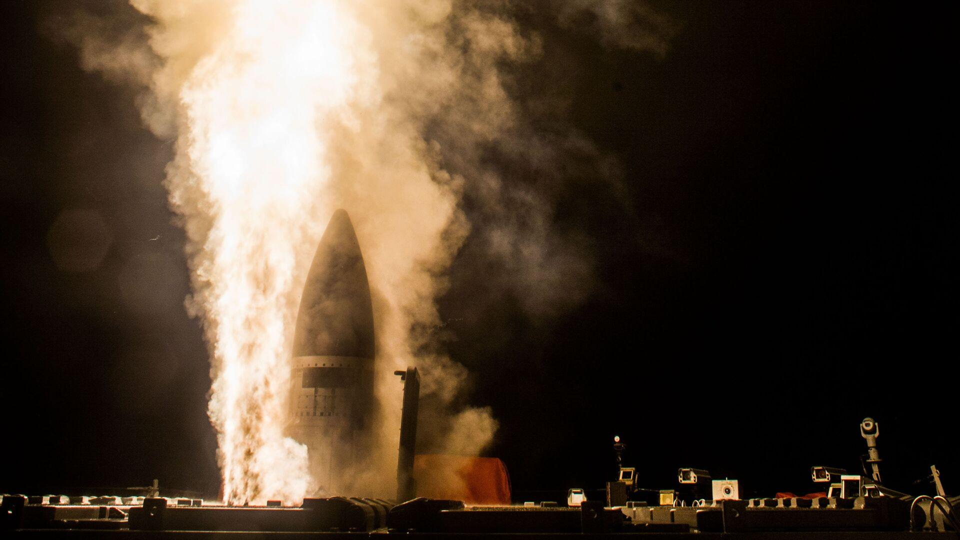 Phóng tên lửa SM-3 Block IIA - Sputnik Việt Nam, 1920, 28.07.2021
