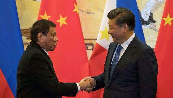 Rodrigo Duterte và Tập Cận Bình - Sputnik Việt Nam
