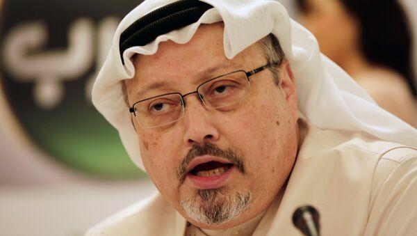 Nhà báo Ả Rập Jamal Khashoggi - Sputnik Việt Nam
