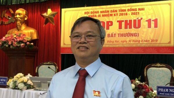 Ông Cao Tiến Dũng, tân Chủ tịch UBND tỉnh Đồng Nai - Sputnik Việt Nam