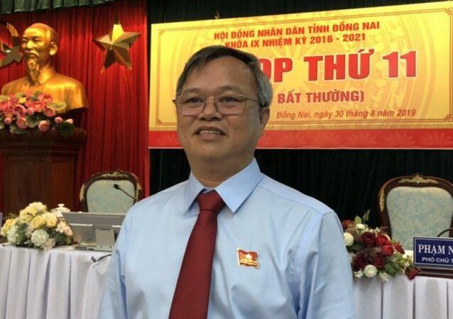 Ông Cao Tiến Dũng, tân Chủ tịch UBND tỉnh Đồng Nai