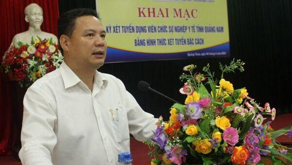Ông Lê Văn Thanh, tân Thứ trưởng Bộ LĐTB&XH  - Sputnik Việt Nam