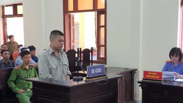 Bị cáo Lương Văn Tâm tại tòa. - Sputnik Việt Nam