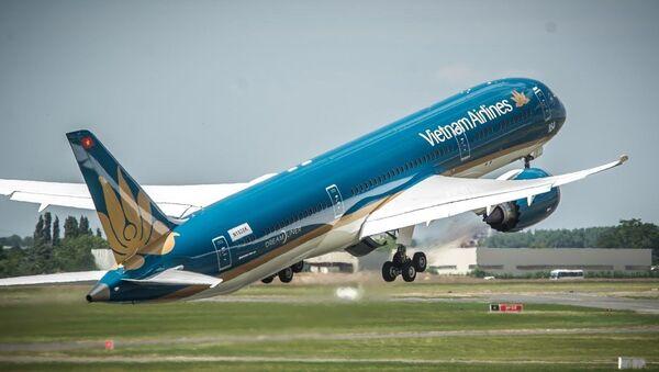 Máy bay boeing 787 - Dreamliner của Vietnam Airlines - Sputnik Việt Nam