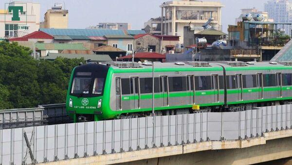 Tàu đường sắt Cát Linh - Hà Đông. - Sputnik Việt Nam