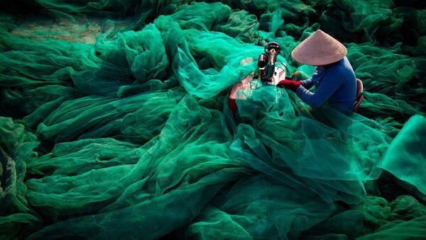 """Bức ảnh """"Trái tim đại dương"""" của nhiếp ảnh gia Trần Tuấn Việt, lọt chung kết cuộc thi Environmental Photographer of the Year 2019 - Sputnik Việt Nam"""