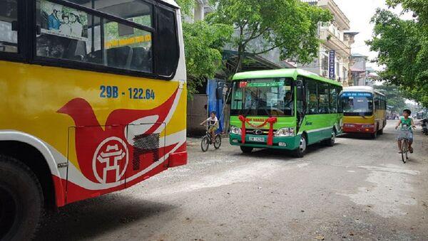Xe buýt ở Hà Nội  - Sputnik Việt Nam