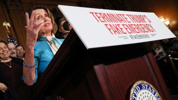 Chủ tịch Hạ viên, đảng viên đảng Dân chủ Nancy Pelosi - Sputnik Việt Nam