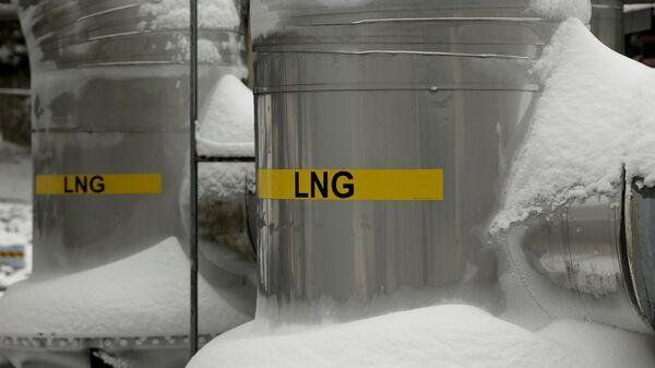 Kho chứa khí hóa lỏng ở Hoa Kỳ - Sputnik Việt Nam