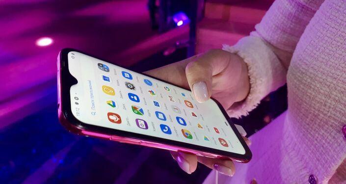 Lễ giới thiệu điện thoại Vsmart tại Matxcơva
