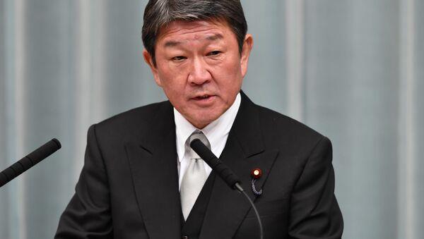 Bộ trưởng Ngoại giao Nhật Bản Toshimitsu Motegi - Sputnik Việt Nam