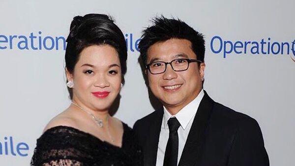 Bà Phươợng và chồng - ông Nguyễn Bảo Hoàng - Sputnik Việt Nam