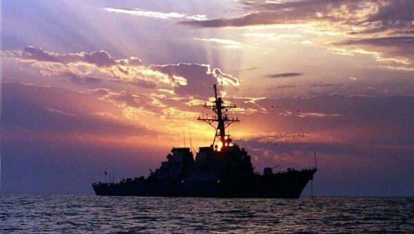 Tàu khu trục Mỹ USS Lassen - Sputnik Việt Nam