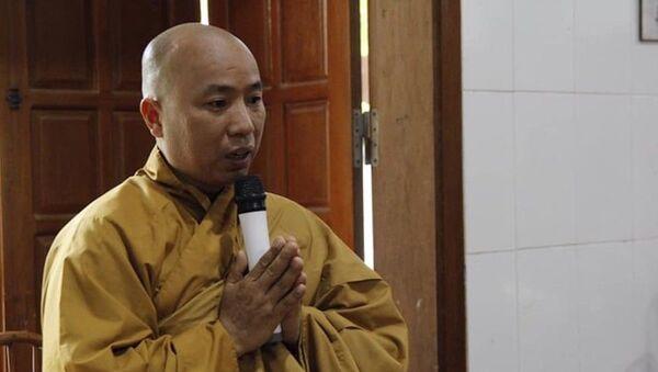 Nhà sư Thích Thanh Toàn tại cuộc họp ngày 5-10 - Sputnik Việt Nam