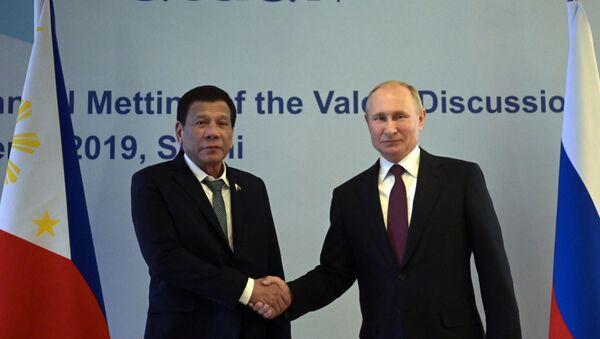 Cuộc gặp của Vladimir Putin và Rodrigo Duterte - Sputnik Việt Nam