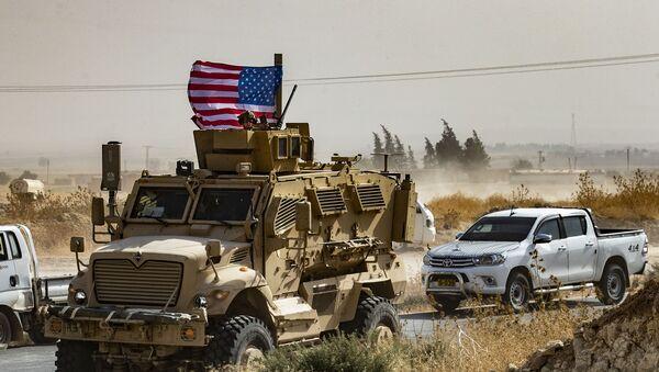 Quân đội Hoa Kỳ tại Cộng hòa Ả Rập Syria  - Sputnik Việt Nam