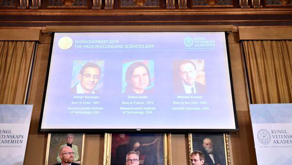 Xướng danh những người đoạt giải Nobel về kinh tế  - Sputnik Việt Nam
