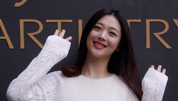 Nữ ca sĩ Sulli - Sputnik Việt Nam