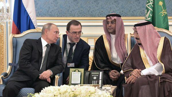 Сhuyến thăm chính thức của Tổng thống Nga Vladimir Putin tới Ả Rập Saudi  - Sputnik Việt Nam