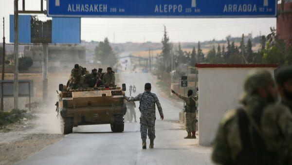 Сác hoạt động quân sự của Ankara ở phía đông bắc Syria - Sputnik Việt Nam