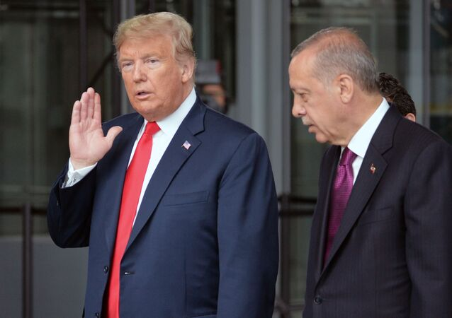 Tổng thống Hoa Kỳ Donald Trump và Tổng thống Thổ Nhĩ Kỳ Recep Erdogan.
