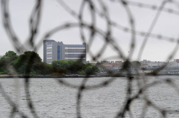 Quang cảnh nhà tù Rikers Island lớn nhất thế giới ở ngoại ô New York, Hoa Kỳ - Sputnik Việt Nam