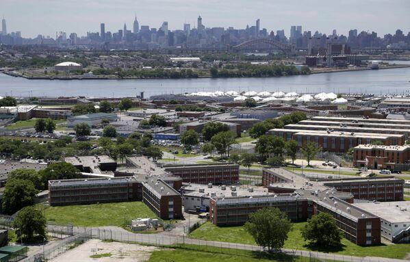 Khu nhà tù Rikers Island ở ngoại ô thành phố New York - Sputnik Việt Nam