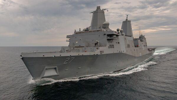 Tàu đổ bộ USS Portland (LPD-27) - Sputnik Việt Nam